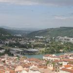 Lyon-Sarras, journée entre culture, vent et pluie