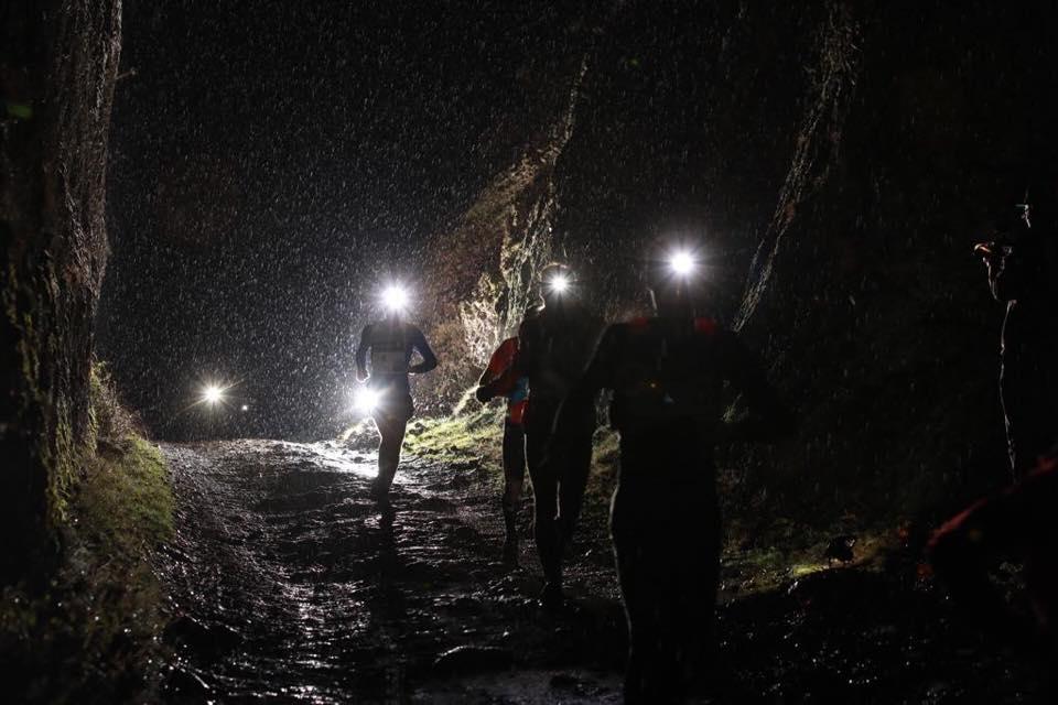 SaintéLyon - Parcours dans la boue