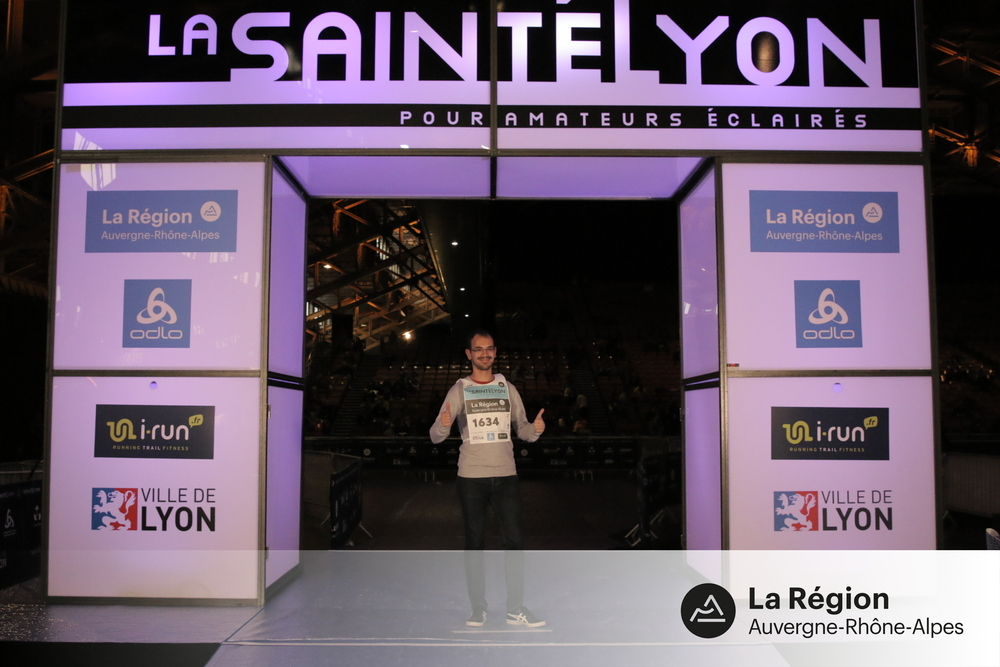 SaintéLyon - Photo d'avant départ