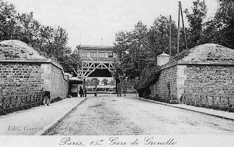 Enceinte de Thiers Gare de Grenelle