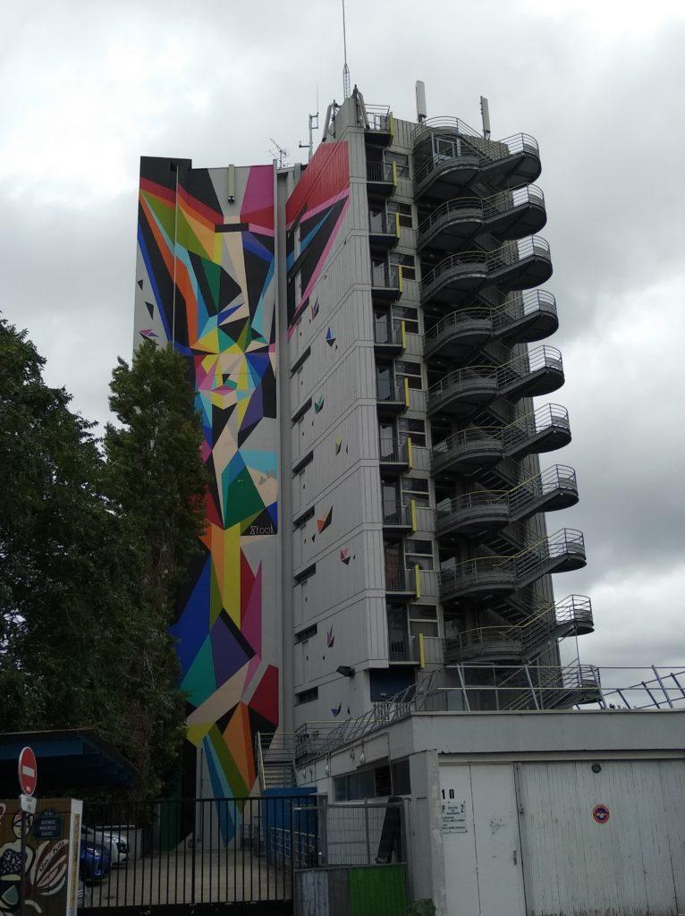 Immeuble Street Art