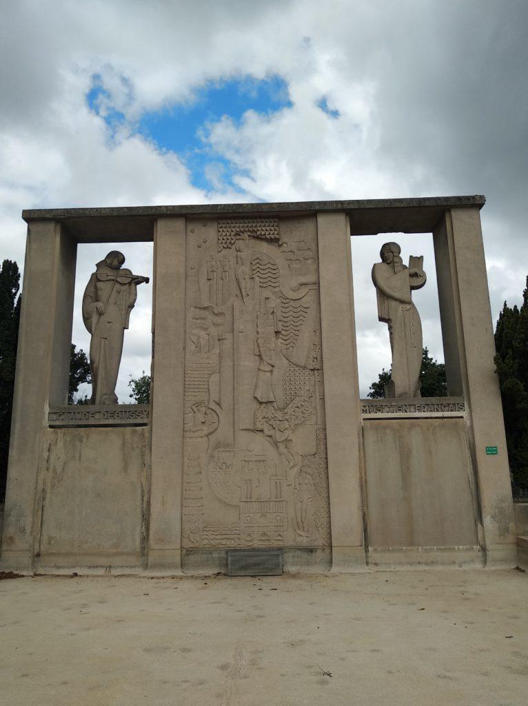 Monument Claude Debussy