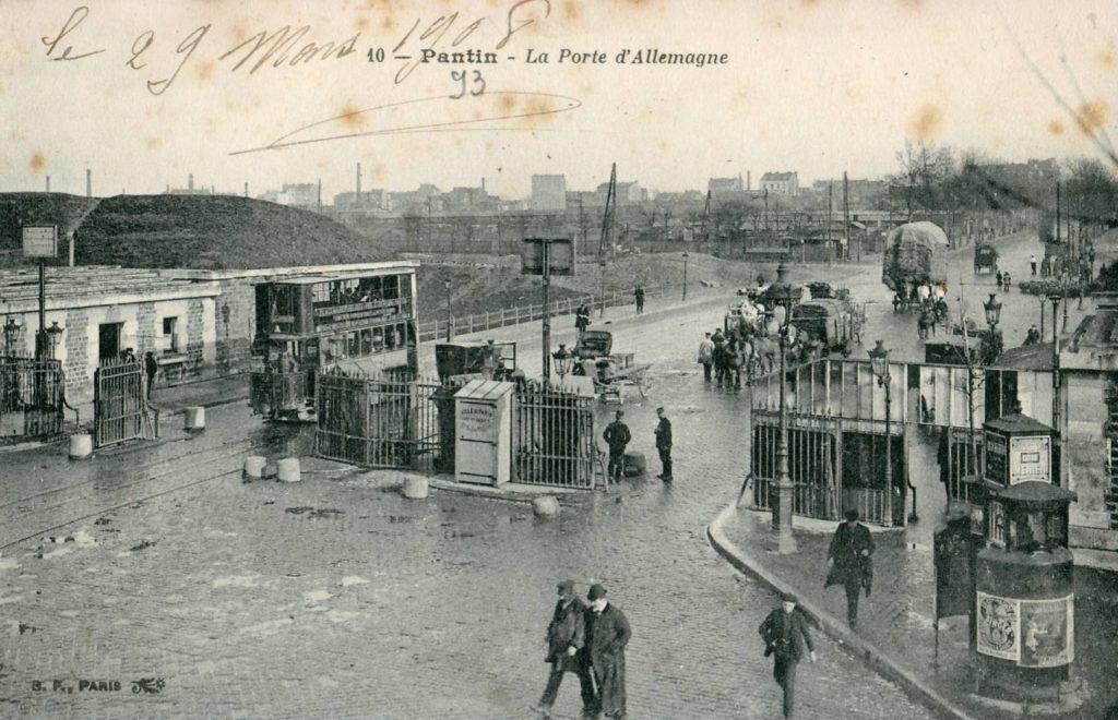 Pantin La Porte d'Allemagne