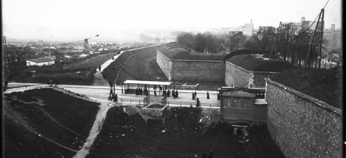 Porte de Versailles en 1913