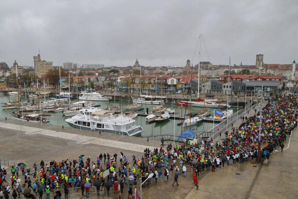 Marathon de La Rochelle 2019 - Départ
