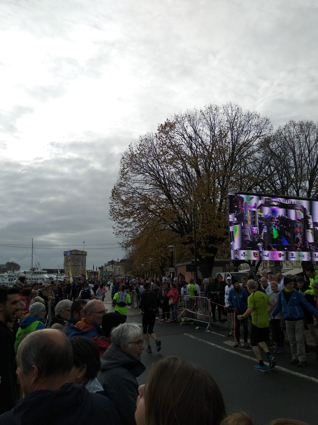 Marathon de La Rochelle - Arrivée