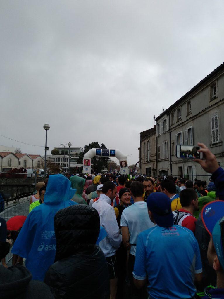 Marathon de La Rochelle - Avant départ