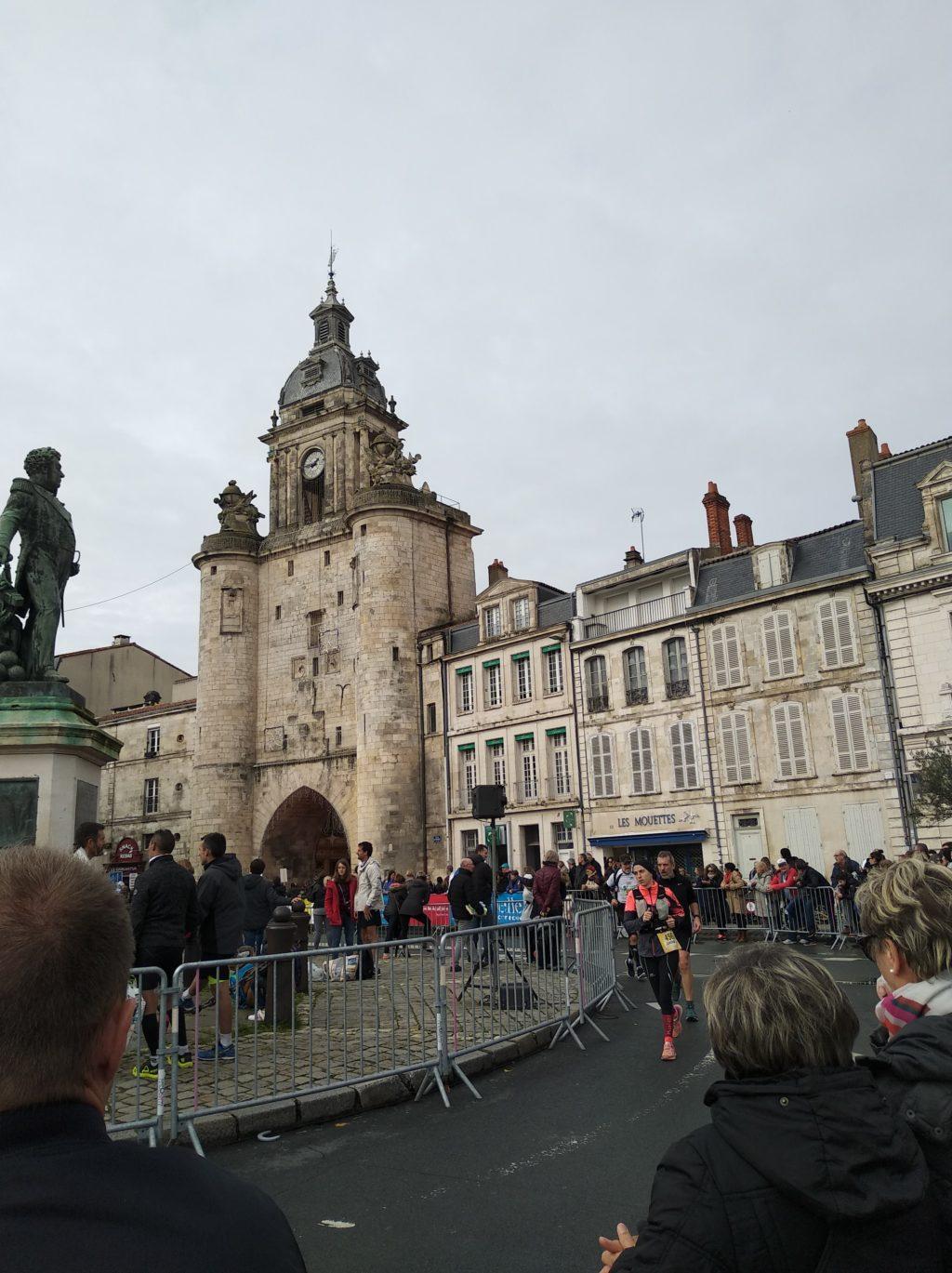 Marathon de La Rochelle - Porte de la Grande Horloge