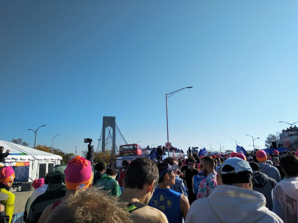 Marathon de New York - Départ