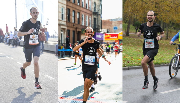 3 Marathons Rotterdam New York La Rochelle