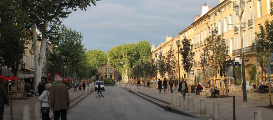 Biking Trip - Jour 7 - Aix en Provence - Cours Mirabeau 3