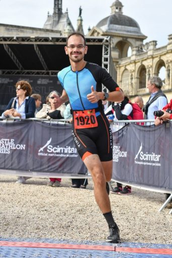 Triathlon de Chantilly - Arrivée 2