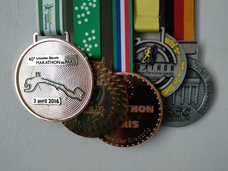 Médailles Marathon