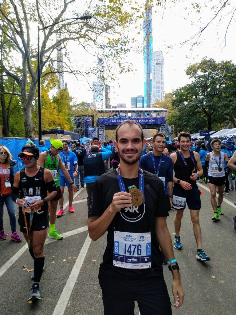Marathon de New York - Arrivée